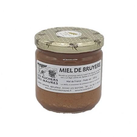 Miel de cru du Var Bruyère Blanche | Les Ruchers des Maures