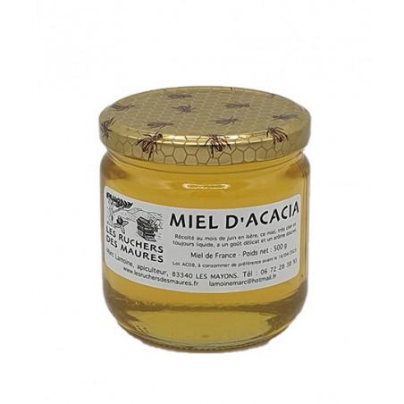 Miel de cru du Var Acacia   Les Ruchers des Maures